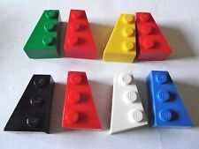 LEGO 2x3  wedge brick Left & right x 3 pairs Part 6565 & 6564 Choose your colour