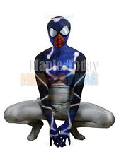 Adult Spider-Man Costume Suit with Faceshell Mask & Lenses Spiderman Cosplay