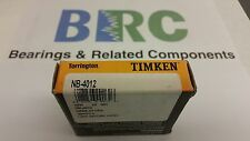NB4012 TIMKEN NEEDLE BEARING DRAWN CUP STYLE FULL COMPLIMENT NEEDLE