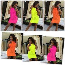 Sexy Women's Bodycon Short Mini Dress Sleeveless Evening Party Cocktail Clubwear