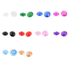 Plastic Crystal Beads Wedding Party Bridal Shower Decor 3mm Diameter 1000 Pcs