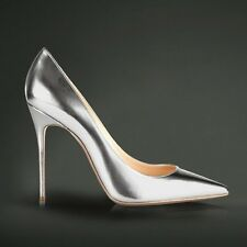Womens High Heel Shoes Pointy Toe Slip on Pumps Classic Stilettos Party Court SZ