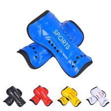 Adult Kids Athletic Soccer Football Shin Guards Pads Shinguard Ankle Protector