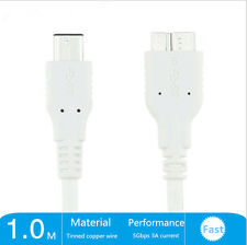Type USB-C USB 3.1 Male to Micro B Male Cable Data Sync Charger Cord HDD Drive