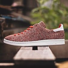ADIDAS STAN SMITH PRIMEKNIT RED Sz 8 9 10 11 12 SHOES NMD 2016 ULTRA MEN'S BOOST