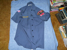 Cub Scout Uniform Youth Large Boy Scouts of America Official Short Sleeve Shirt