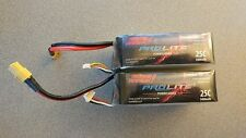 Thunder Power TP5400-4SP+25 25C 5400mAh LiPo Battery for RC/Drone (3) + Storage