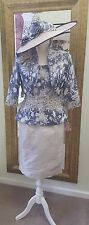Stunning Ian Stuart ISL688 Mother of the Bride/Groom outfit UK sizes 12