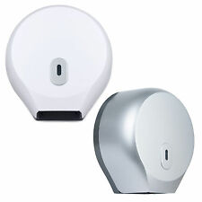 WALL MOUNTED TOILET PAPER ROLL DISPENSER MINI JUMBO TOILET SEAT COVER BATHROOM
