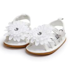 Baby Infant Girls Flower Princess Sandals Soft Sole First Walker Crib Pram Shoes