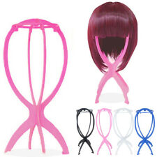New Plastic Folding Stable Durable Wig Hair Head Hat Cap Display Holder Stand