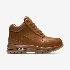 Nike ACG Air Max GOADOME Size Boots Shoes Mens Leather Brown Tawny 865031 208