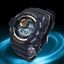 Men's Watch Luxury Waterproof Sport Analog Quartz LED Mens Wrist Watch