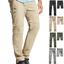 Men Outdoor Hiking Camping Quick Dry Pants Detachable Stretch Trousers Seraphic