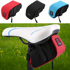 Durable Riding MTB Road Bike Bicycle Saddle Seat Tail Rear Pouch Storage Bag SA