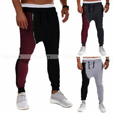 Mens Womens Casual Baggy Hip-hop Harem Pants Trousers Dance Slacks Sweatpants