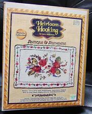 """Heirloom Hooking Historic Collection """"Colonial Roses"""" Item #60504 20""""X27"""" NEW"""