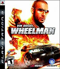 PS3 Wheelman Vin Diesel (Sony Playstation 3, 2009) New Sealed A Must Have!