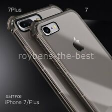 For iPhone 7 6S Plus Case Transparent Crystal Clear Case Gel TPU Soft Cover Skin