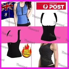 Belly Control Shaper Tummy Trimmer Corset Hot Cami Weight Loss Zipper Shapewear