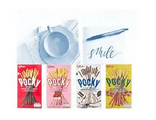 4TASTES GLICO POCKY JAPAN BISCUIT STICKS CANDY SNACK DESSERTS CHOCOLATE,COOKIES