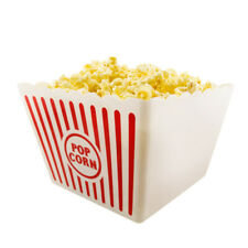 Novelty Place Classic Plastic Popcorn Box Large Bucket Reusable Containers Boxes