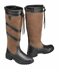 Harry Hall Ladies Mens Rio Special Pull On Tall Walking Outdoor Country Boots