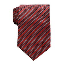Hand Tailored Wooven Neck Tie, Style #L91871-A4