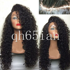 Ladies Synthetic Wigs Long Deep Full Curly Lace Front Fashion Womens Hair Wig