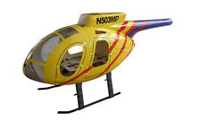MD 500 E yellow GFK Hull for 450 Heli,eg T Rex Blade CopterX fuselage heliartist