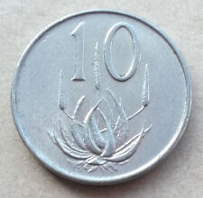 SOUTH AFRICA 10 Cent coins * 1965-1980 * Nickel * Choice of Year * Last Few