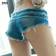 MEILEIYA Women Low Waist Short Denim Pant Sexy Lady Short Jean Denim Pant 603 GT