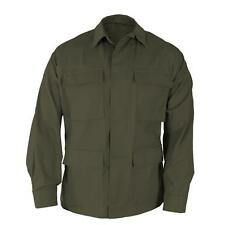 Olive Green BDU Style SHIRT Military Army Marine Corps USMC Navy Seabees XS-4X