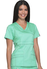 Scrub Dickies Gen Flex Youtility Mock WrapTop 817355 Mint Dream FREE SHIPPING