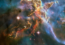 Carina Nebula NGC-3372 - Space Poster Print - Space Photo - Hubble Photo - NASA