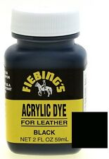 Fiebings Acrylic Dye For Smooth Leather Water Resistant Quick Dry