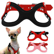 Small Chihuahua Dog Harness Vest Pet Puppy Vest Collar for Cat Teacup yorkie