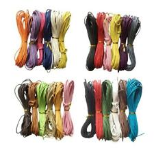 6x Jewelry Making Cotton Waxed Cord String Thread for Necklace Bracelet 10m 2mm