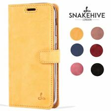 Snakehive® Samsung Galaxy A5 (2017) Vintage Leather Wallet Phone Case Card Slots