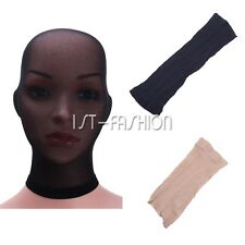 Men Women Stockings Headgear Pantyhose Mask Sheer Mesh Hood Role Play Costume