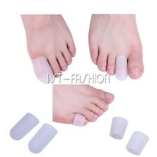 Soft Silicone Gel Toe Tube Finger Protector Toe Sleeves Separators Protector