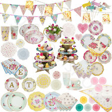 Truly Scrumptious Vintage Party Catering Tableware - Table Decoration Supplies
