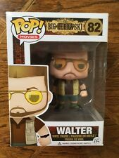 Funko Pop Walter. The Big Lebowski Collectible Figure now Retired. Pop Movies