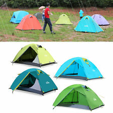 2 Person Tents Camping Tents Double Layer Waterproof Windproof Outdoor Tent PR