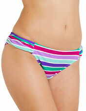 figleaves Womens Berry Mojito Ruched Side Brief