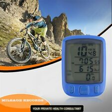 New Cycle Bicycle Bike LCD Computer Odometer Speedometer With Backlight HT