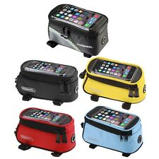 Cycling Bike Front Top Frame Pannier Tube Bag Case Pouch for Cell Phone HT
