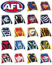 2017 AFL DOUBLE Bed Quilt Cover Doona Pillow Case Set All Teams Available!