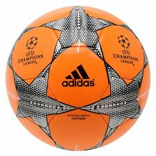 Adidas UEFA Champions League Match Ball Capitano Football Bright Orange Soccer