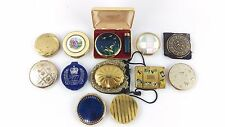 Large Job Lot Collection 12 Vintage Mixed Brand Compacts Inc Kigu Stratton etc